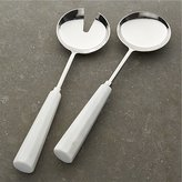 Crate & Barrel Marble Servers Set of Two