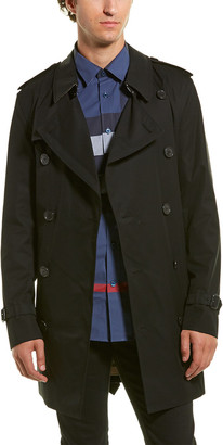 Burberry Short Wimbledon Trench Coat