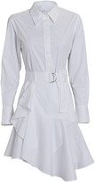 A.L.C. Jacey Cotton Poplin Shirt Dress