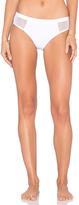 Alexander Wang Mesh & Matte Tricot Bikini Bottom