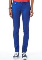 Sapphire Coated Skinny Jean