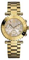 Gc Guess Collection Women's Diver Chic 38mm Gold-Tone Steel Bracelet & Case Quartz MOP Dial Watch I37000L1S