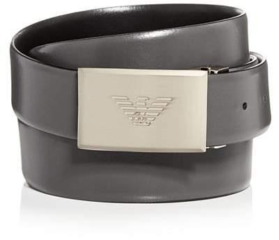 7d045738d7 Men's Plaque Buckle Reversible Leather Belt