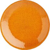 "Crate & Barrel Cotton Orange 8"" Salad Plate"