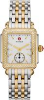 Michele Deco Mid Diamond Watch Head & Bracelet, 29mm
