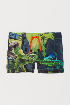 H&M Printed swimming trunks