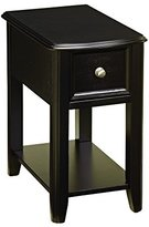 Signature Design by Ashley Contemporary Chair Side End Table Dark Finish