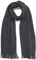 BOSS GREEN CAlbas Scarf - Charcoal