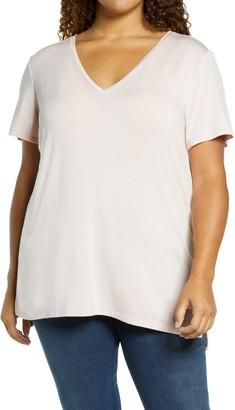 Halogen V-Neck T-Shirt