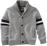 Osh Kosh Toddler Boy French Terry Shawl-Collar Cardigan