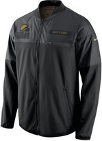Nike Men's Cleveland Browns Salute to Service Hybrid Jacket
