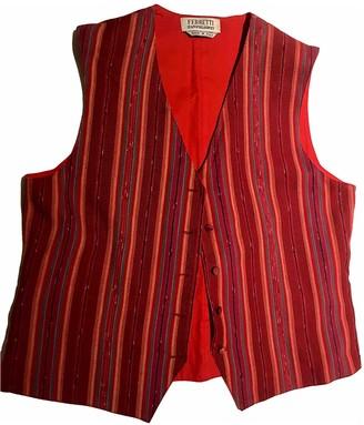 Philosophy di Alberta Ferretti Red Cotton Jacket for Women