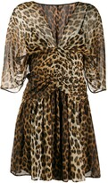 No.21 leopard print dress