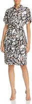 BOSS Holera Graphic Print Dress