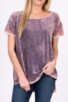 Free People Soft Velvet Tee