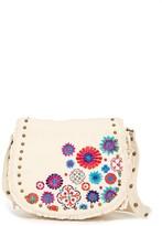 Steve Madden Blume Embroidered Messenger Bag