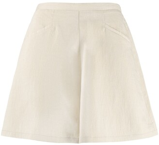 Forte Forte High-Wasited Shorts