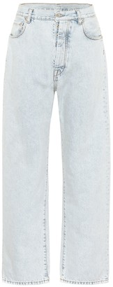 Unravel High-rise wide-leg jeans