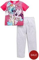 My Little Pony Girls Short Sleeve Pyjamas