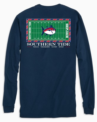 Southern Tide Ole Miss Rebels Stadium Long Sleeve T-Shirt
