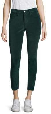 Current/Elliott Mid-Rise Velvet Jeans