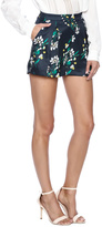 Endless Rose Navy Floral Shorts