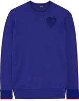 Proenza Schouler Cutout Cotton-blend Sweater - Royal blue