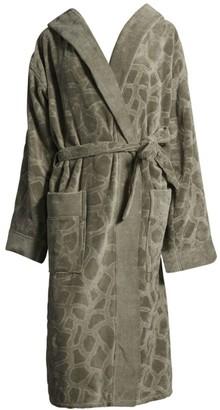 Roberto Cavalli Jerapha Textured Cotton Bathrobe