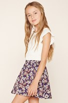 Forever 21 FOREVER 21+ Girls Floral Print Skirt (Kids)
