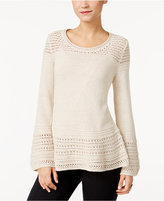 Style&Co. Style & Co Bell-Sleeve Sweater, Only at Macy's