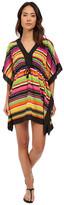 Lauren Ralph Lauren Sunset Stripe Sydney Tunic Cover-Up