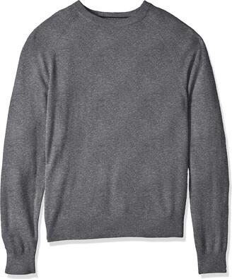 Buttoned Down Amazon Brand Men's 100% Premium Cashmere Crewneck Sweater