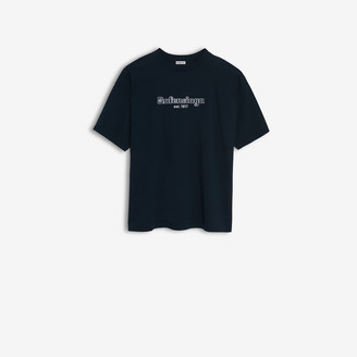 Balenciaga Est. 1917 Oversize T-shirt