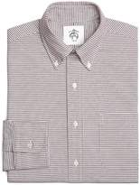 Brooks Brothers Mini Tattersall Oxford Button-Down Shirt