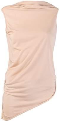 Rick Owens Lilies draped vest top