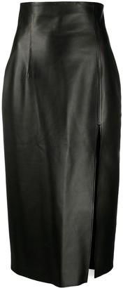 16Arlington Side Slit Skirt