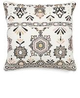 Levtex Embroidered Medallion Pillow