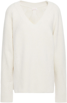 See by Chloe Ribbed Wool-blend Sweater
