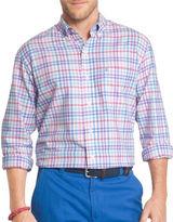 Izod Classic Fit Plaid Oxford Shirt
