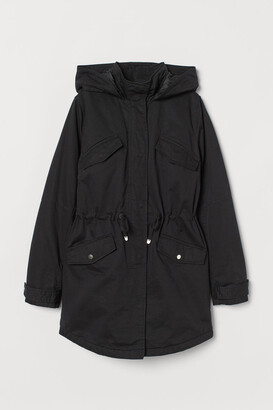 H&M Cotton twill parka