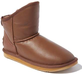 Australia Luxe Collective Women's Cold Weather Boots PARTRIDGE - Partridge Fur-Lined Cosy X Leather Ankle Boot - Women