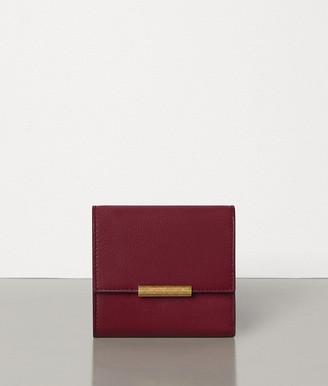 Bottega Veneta Mini Continental Wallet In French Calf