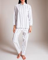 Pluto Silver Contrast Jodie Pajama