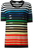 Sonia Rykiel striped T-shirt - women - Silk/Cotton - S