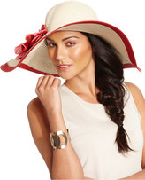 Nine West Super Floppy Flower Hat
