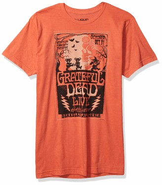 Liquid Blue Unisex Adult Grateful Dead Berkeley Moon Live Halloween Tee T Shirt