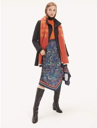 Tommy Hilfiger Paisley Wrap Skirt