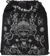 Givenchy Tattoo Nylon Drawstring Backpack