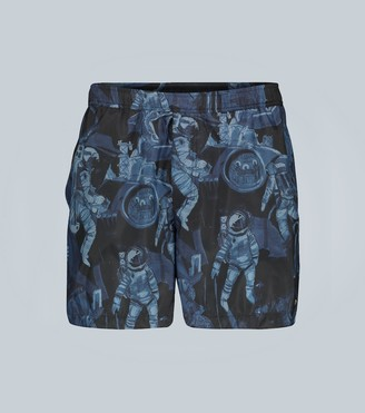 Valentino Infinite City swim shorts