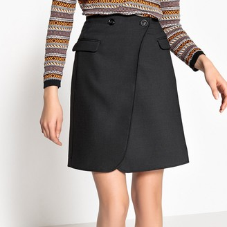 La Redoute Collections Wrapover Skirt